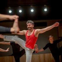 Performer Claudio Santana Bórquez (Chile), February 2015, photo Maciej Zakrzewski