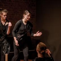 Julia Patan, Anna Loroch, Zofia Machowska, Eugenia Kopytko, Etiudy teatralne, 2014, fot. Maciej Zakrzewski