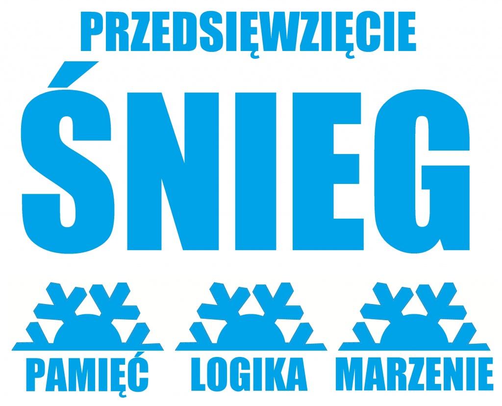 Przedsięwzięcie ŚNIEG, 2013, fragment plakatu Karoliny Nowickiej
