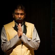 Praveen Bhole (India), September 2012, photo Maciej Zakrzewski