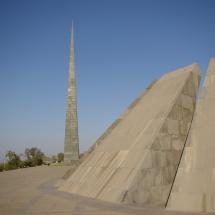 Pomnik ludobójstwa Ormian, Erywań, fot. Grzegorz Ziółkowski