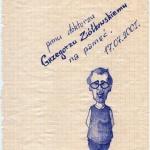 Grzegorz Ziółkowski, caricature