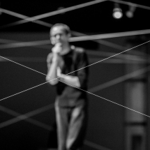 Grzegorz Ziółkowski in the polygon, 2014, photo Maciej Zakrzewski