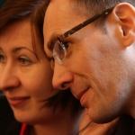 Iwona Gutowska and Grzegorz Ziółkowski, the Grotowski Year 2009, Wrocław, photo Francesco Galli