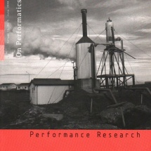 On Performatics, a special issue of Performance Research, vol. 13, 2008 nr 2 (June), ed. Richard Gough and Grzegorz Ziółkowski