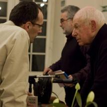 Spotkanie z Peterem Brookiem, 2009, fot. Maciej Zakrzewski