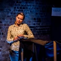 Magda Musiał, Etiudy teatralne, podsumowanie, 24 stycznia 2017. Fot. Maciej Zakrzewski
