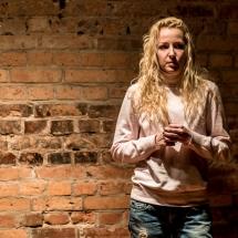 Amanda Karkut, Etiudy teatralne, podsumowanie, 24 stycznia 2017. Fot. Maciej Zakrzewski