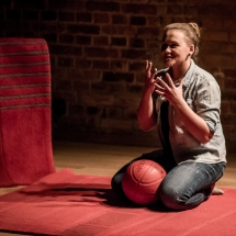 Maryna Strapko, Etiudy teatralne, podsumowanie, 24 stycznia 2017. Fot. Maciej Zakrzewski