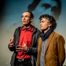 Grzegorz Ziółkowski, Claudio Santana Borquez, ATIS PULSAR 2017, UPLA, Valparaíso, Chile. Fot. Maciej Zakrzewski