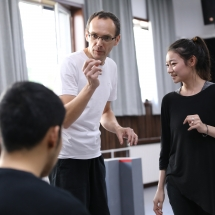 Teaching at the Beijing Film Academy, 2019